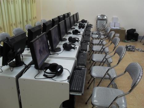 Phòng học ngoại ngữ Hiclass X